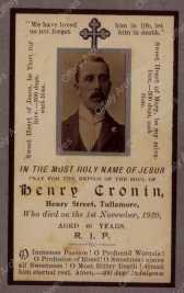11 012 Henry Cronin